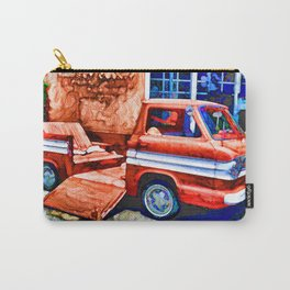 An Old Pickup Truck2 Carry-All Pouch