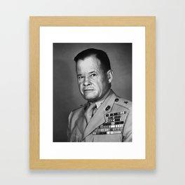 General Lewis Puller - 1952 Framed Art Print