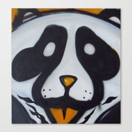 Pandas and Polaroids Canvas Print