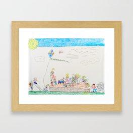 Kelly Bruneau #15 Framed Art Print