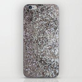 Sparkling SILVER Lady Glitter #1 #decor #art #society6 iPhone Skin