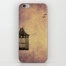birds and freedom concept iPhone & iPod Skin