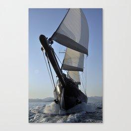 big sailboat sailing Canvas Print