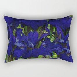 Tatum's Iris II Rectangular Pillow