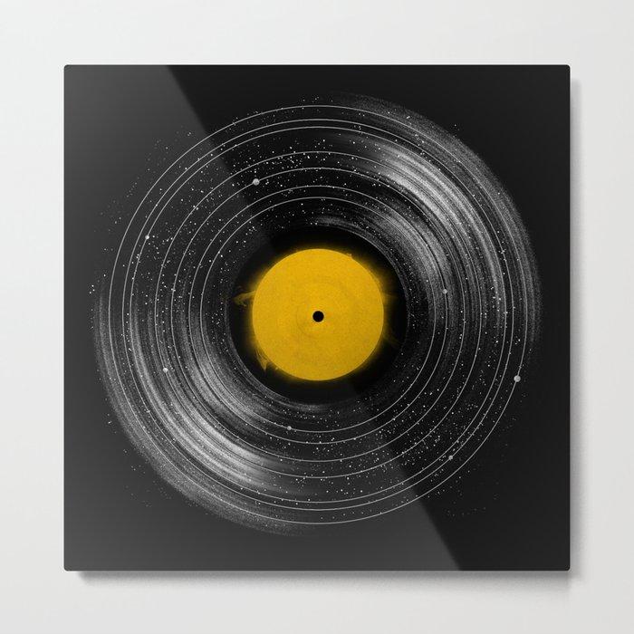 Sound System Metal Print