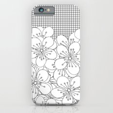 Cherry Blossom Grid - In Memory of Mackenzie Slim Case iPhone 6s