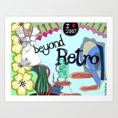 Beyond Retro Art Print