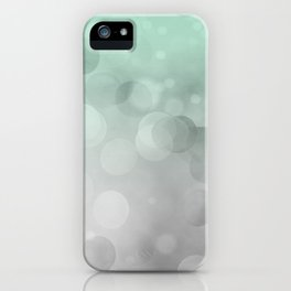 Into The Green Light iPhone Case