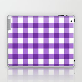 Purple Buffalo Check - more colors Laptop & iPad Skin