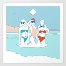 Luna Nueva Art Print