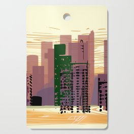 City Cutting Board