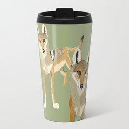 Wolves of the World: Canis lupus pallipes (c) 2017 Travel Mug