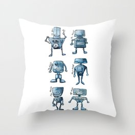 We Are All Robots Throw Pillow