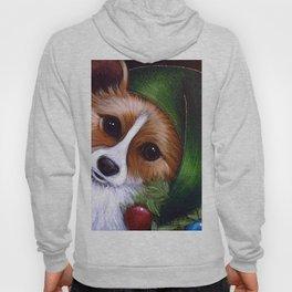 HOLIDAY WELSH CORGI DOG - LITTLE ELF Hoody