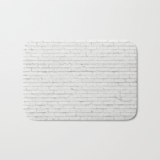 Brick Wall Bath Mat