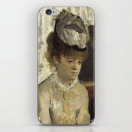 In a café (or  L'Absinthe) iPhone Skin
