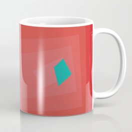 MinimalBlue Coffee Mug