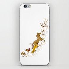 Magic paintbrush iPhone & iPod Skin