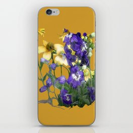 wildflowers / nature, flora, still life,  iPhone Skin