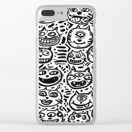 1 Million Cats Clear iPhone Case