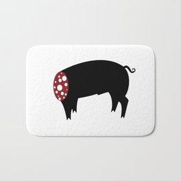 Sausage Pig Bath Mat