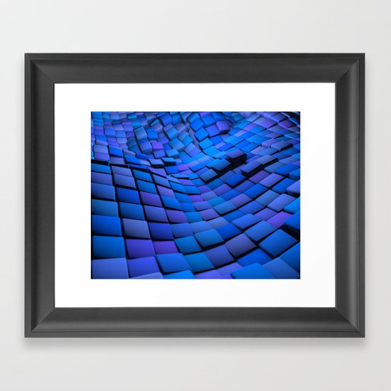 Blue Valley Framed Art Print