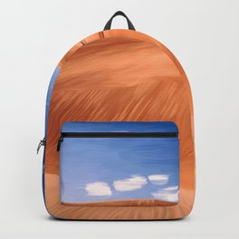 Once upon a desert, painting Backpack