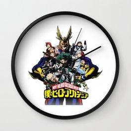 Boku no My hero academia Wall Clock