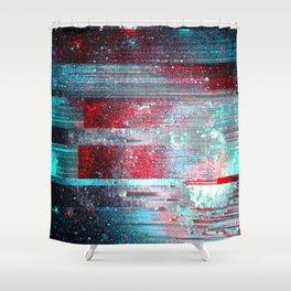 Galaxy Garden Shower Curtain
