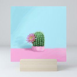 Cactus Flower Serie 1 Mini Art Print