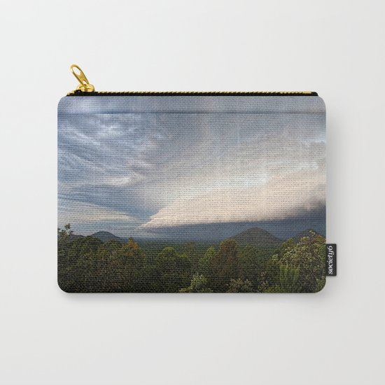 Storm clouds over Australian landscape Carry-All Pouch
