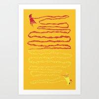 Love the Journey Art Print