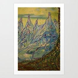 Goddess of Neldor Art Print