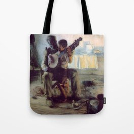 The Banjo Lesson by Henry Ossawa Tanner Tote Bag