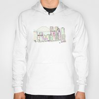 tokyo Hoodies featuring Tokyo by Ursula Rodgers