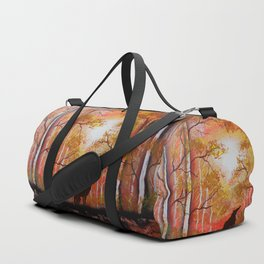 Howling Into The Woods Duffle Bag