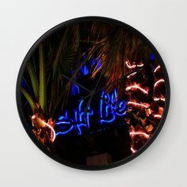Salt Life Restaurant  Wall Clock