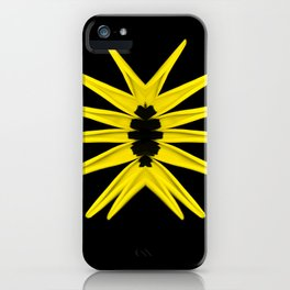 Love trap of Nature (Yellow) iPhone Case