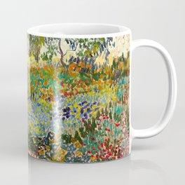 Garden at Arles by Vincent van Gogh, 1888 Coffee Mug