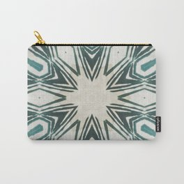 pointed green texture Carry-All Pouch