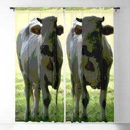 Cow Blackout Curtain