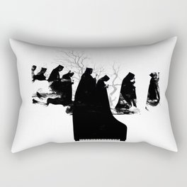 Piano Procession Rectangular Pillow