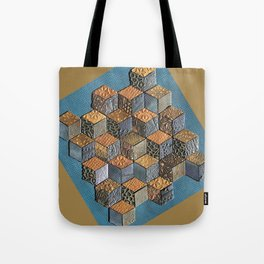 Tumbling Blocks #5 Tote Bag