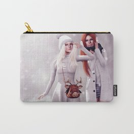 It's snowing! Carry-All Pouch