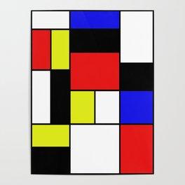 Mondrian #21 Poster