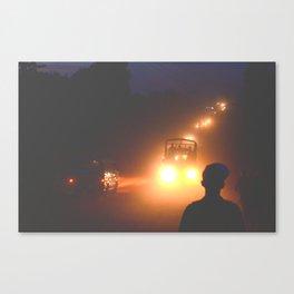 Dusty Road Canvas Print