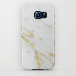 Treviso gold marble iPhone Case