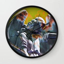 FLORAL ANGEL Wall Clock