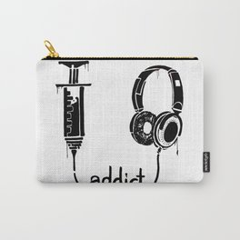 Addicted to music Carry-All Pouch
