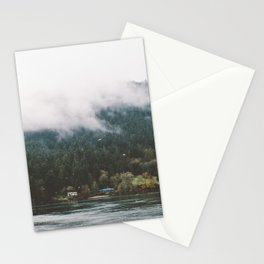 Foggy Vancouver Island, BC Stationery Cards
